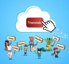 Cursor klickt auf Translate Button